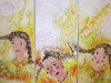 2003-3-girls-mixed-media-on-canvas-40x80cm-each-triptychon